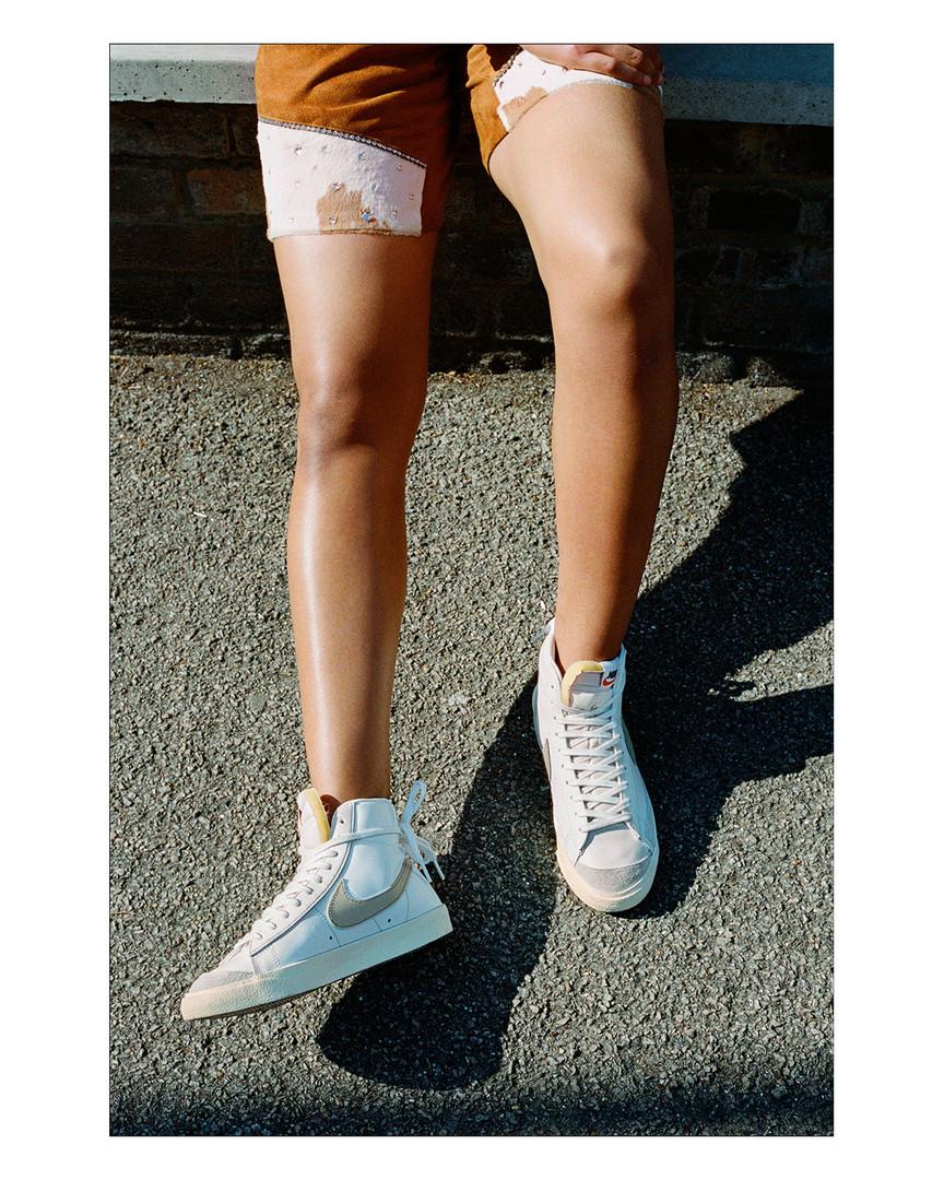 Natalie for Nike Blazer editorial