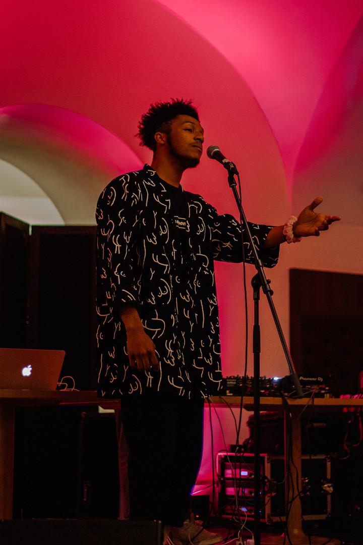 Darius at Tate Late