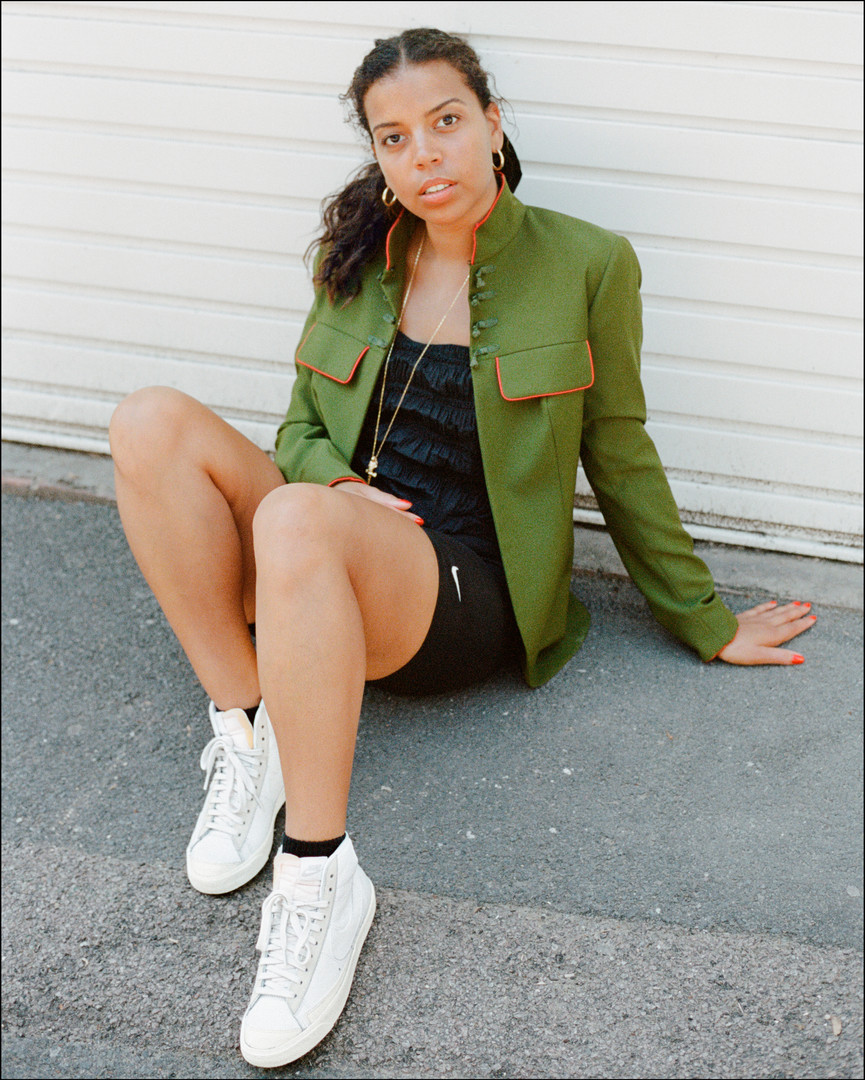 Marika for Nike Blazer editorial