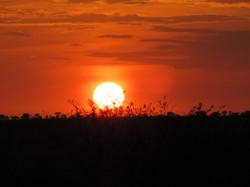 Sunset on the Serengeti