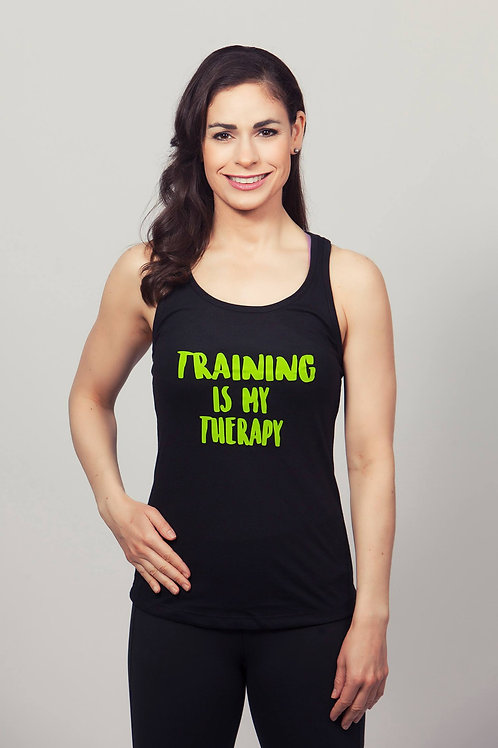 Training Is My Therapy Tank Top