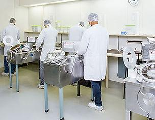 sala de cápsula automatizada