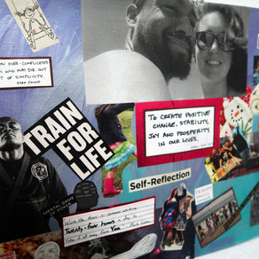 Reconnect This Weekend by Making a Couples Vision Board