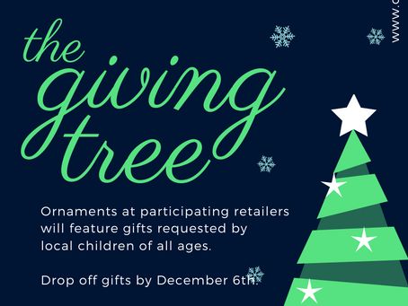 Proudly Participating In The Giving Tree 2019