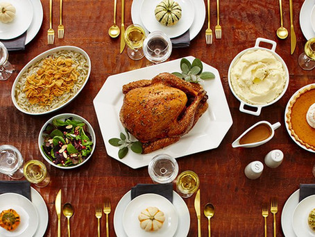 Now Accepting Thanksgiving Take-Out Orders