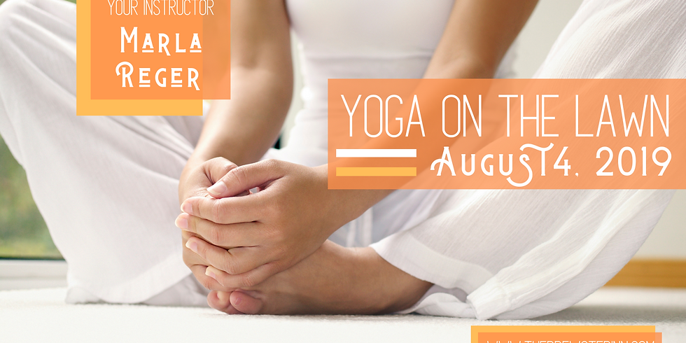 Yoga On The Lawn with Marla Velky-Reger