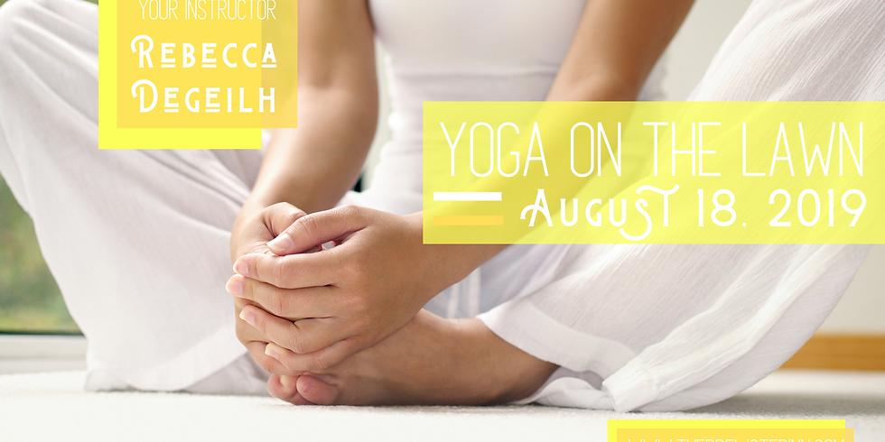 Yoga On The Lawn with Rebecca Degelih