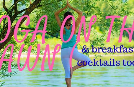 Rise & Shine! Morning Yoga On The Brewster Inn Lawn