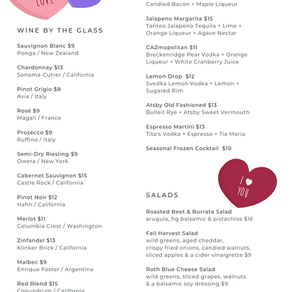 Valentine's Weekend - Book Your Table Today!