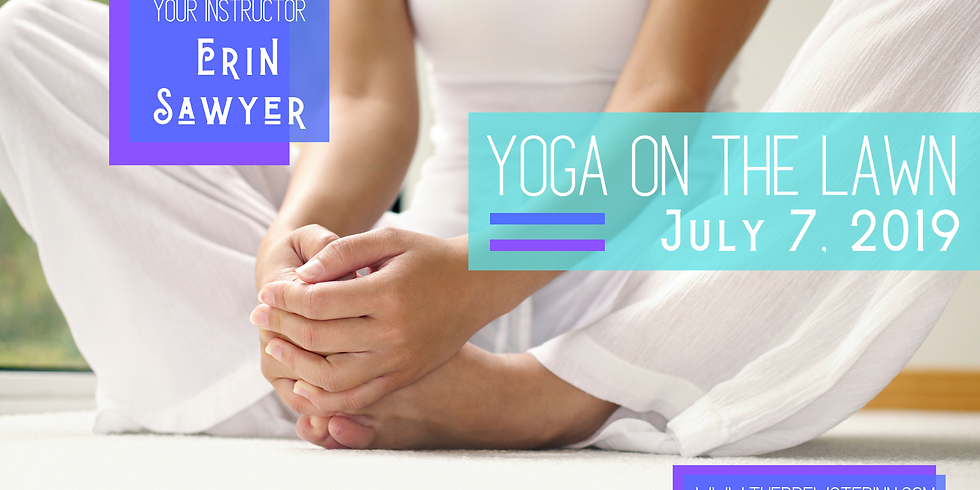 Yoga On The Lawn with Erin Sawyer