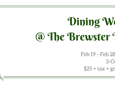 Brewster Inn Brings Dining Week To The Suburbs