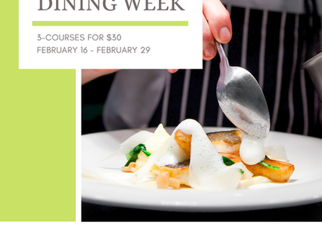 Dining Week Feb 16 - Feb 29