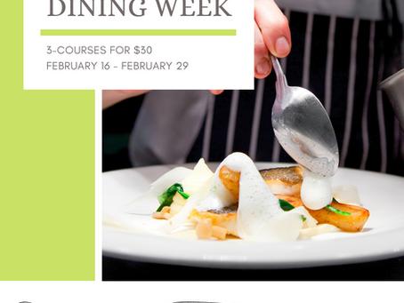 Dining Week Feb 16 - Feb 29