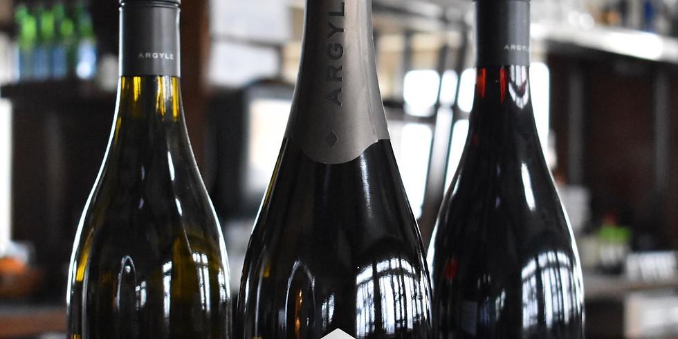 Oregon Wine Pairing Dinner Featuring Argyle Vineyards