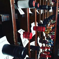 #winefordays #brewsterinn #winewall #upstateny #cazenovia #wine