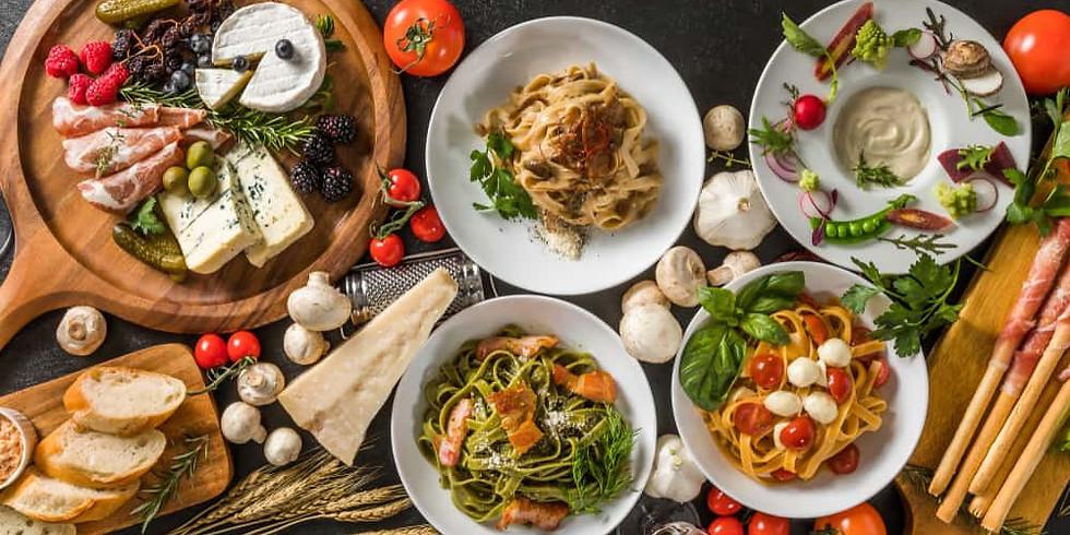 Italian Wine & Food Pairing Dinner