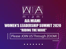 "AIA Miami Women's Leadership Summit 2020 ""Riding the Wave"""