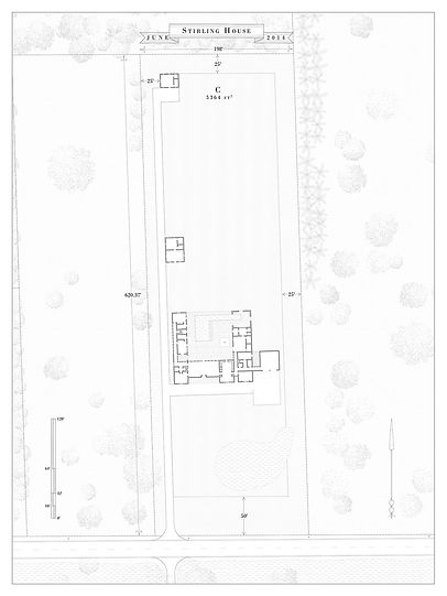 Site Plan for proposed project in Miami Florida