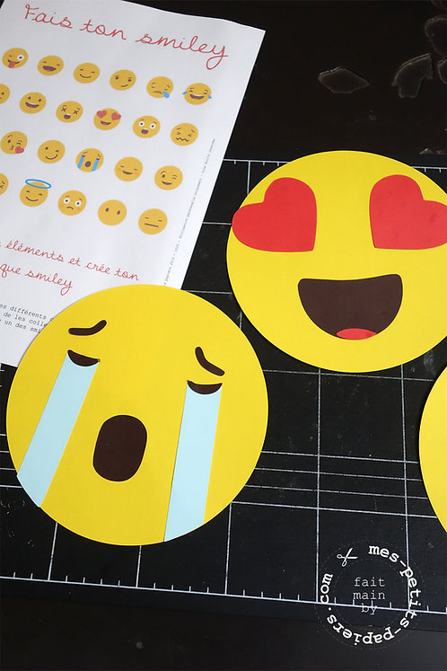DIY PyjamaParty - emojis