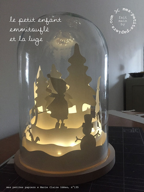 Conte de Noël sous cloche (XL)