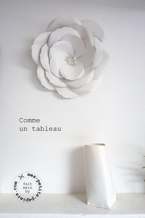 Fleur XXL en papier