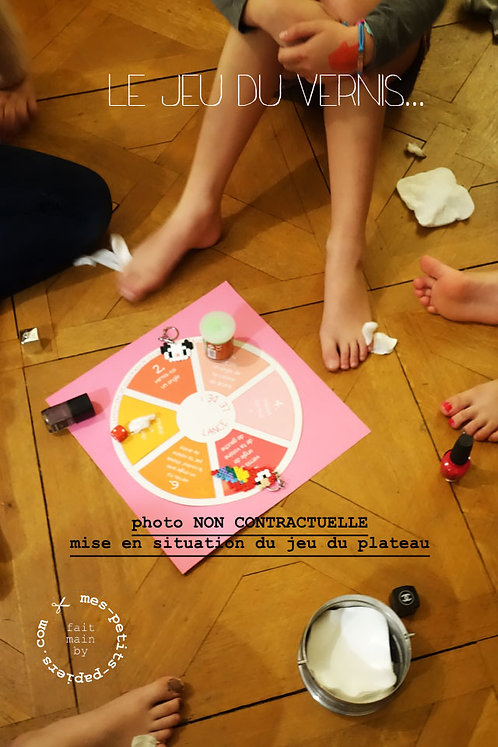 DIY PyjamaParty - Jeu du vernis