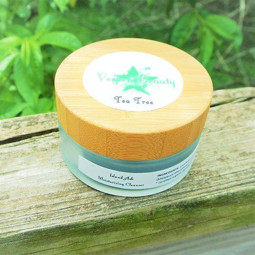 Tea Tree Island Ash Moisturizing Cleanser and $1 donation - 100ml