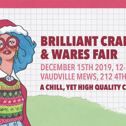 Brilliant Crafts & Wares Fair 8!