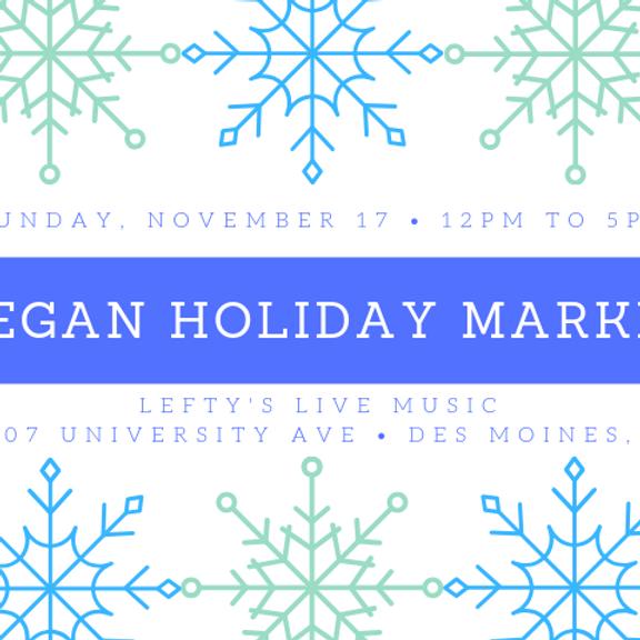 Vegan Holiday Market