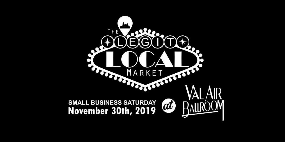 The LEGIT Local Market + Small Business Saturday