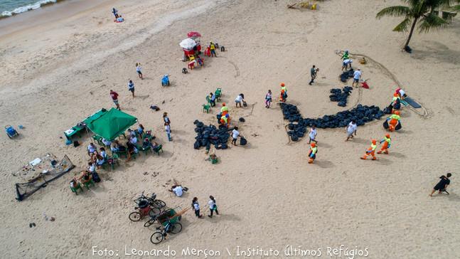 Ação Ambiental: Limpeza de Praias