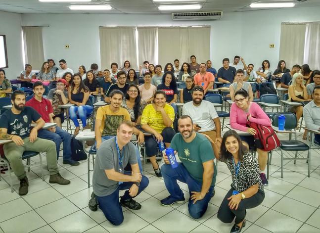Últimos Refúgios em aula inaugural para Ciências Biológicas na FAESA