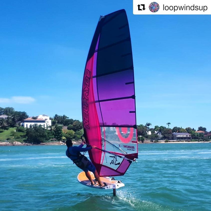 Windsurf em Vitoria ES - Foto por LOOPwi