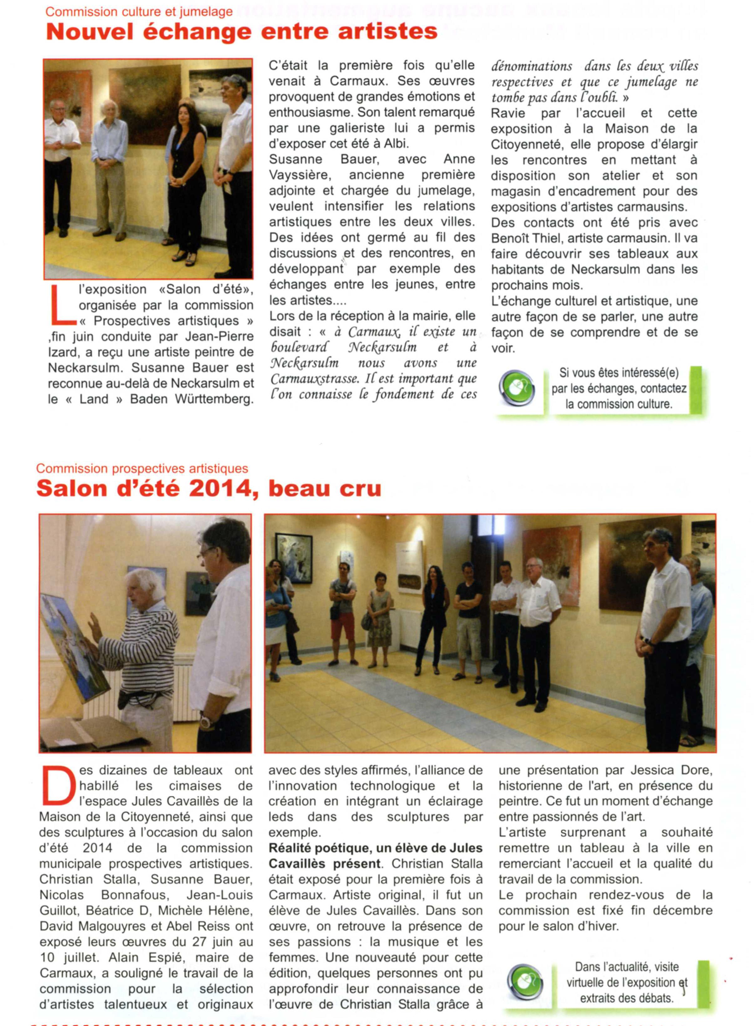 2014 PR Carmaux Stadtanzeiger