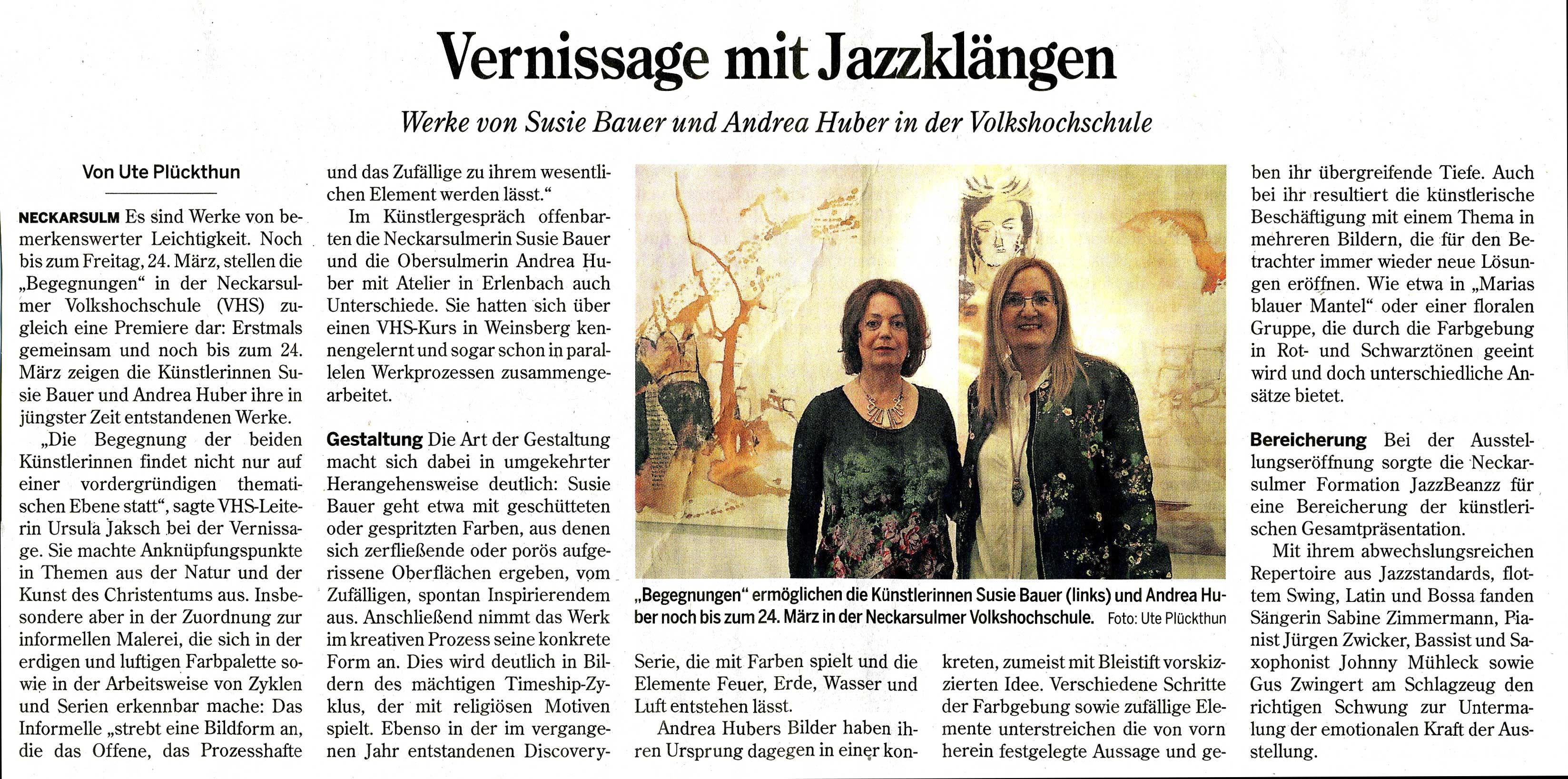 2017-02 HSt Vernissage: Begegnungen