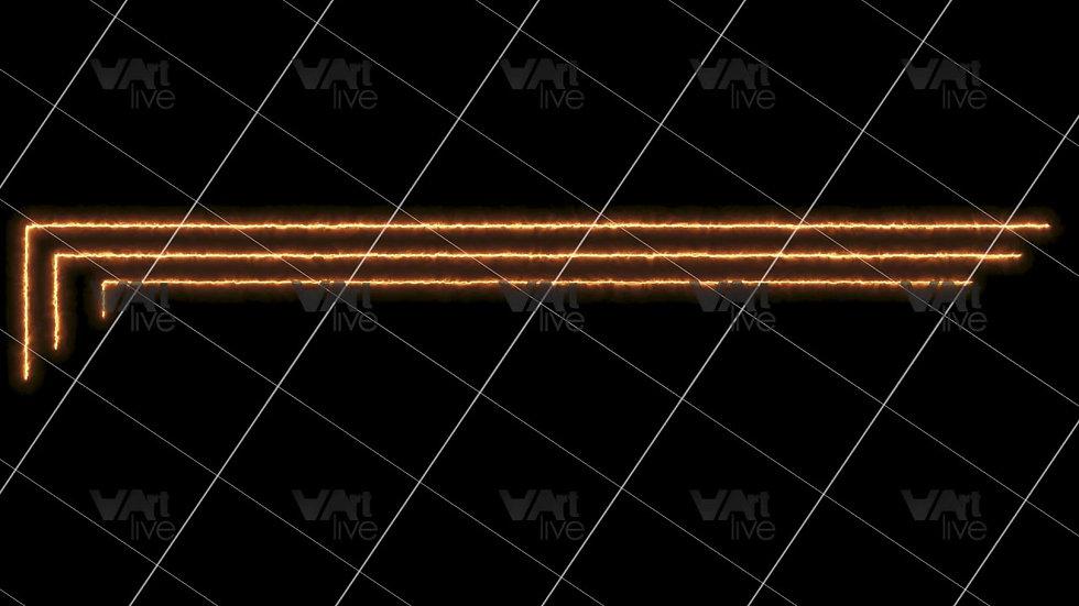 Colorful Neon Lines Loop - VA-3H-0101