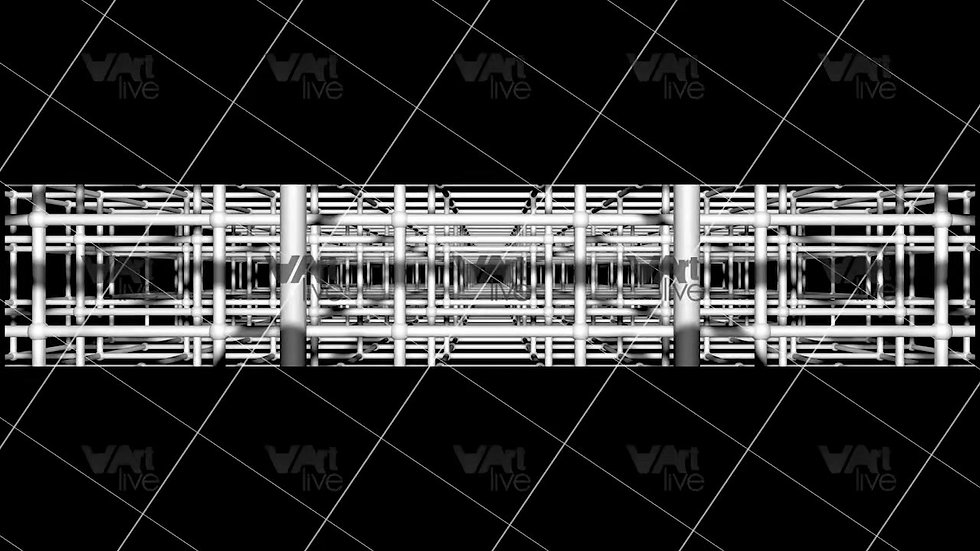 3D Geometric Shapes  Loop - VA-3H-0006