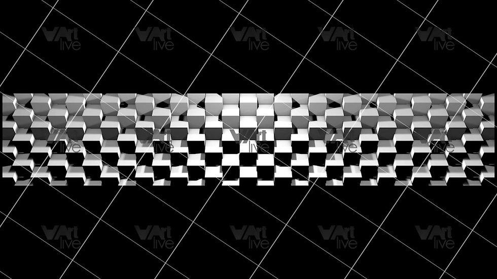 3D Geometric Shapes  Loop - VA-3H-0039