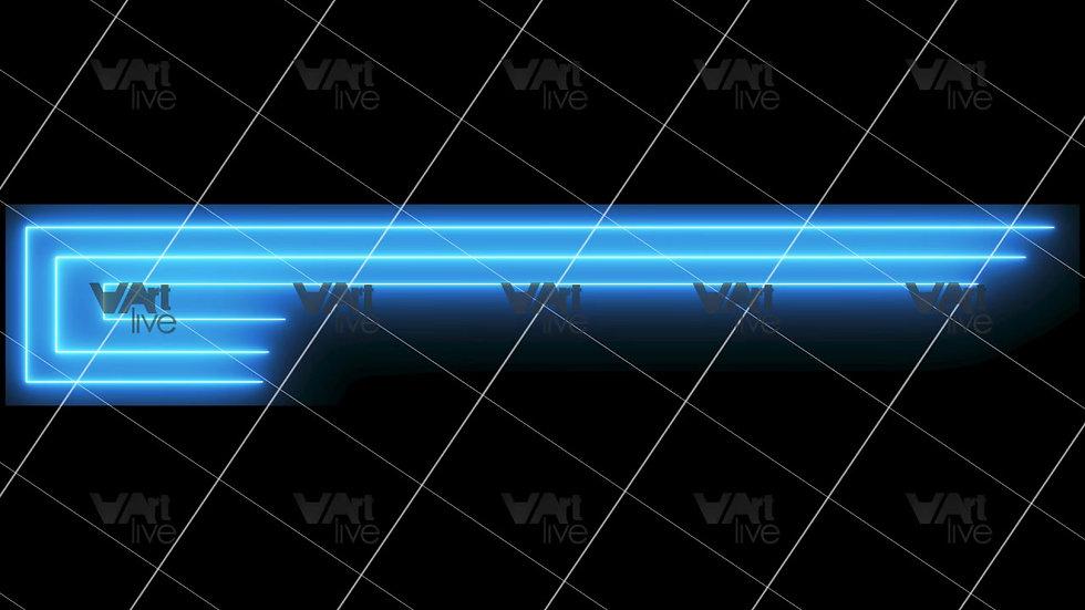 Colorful Neon Lines Loop - VA-3H-0102