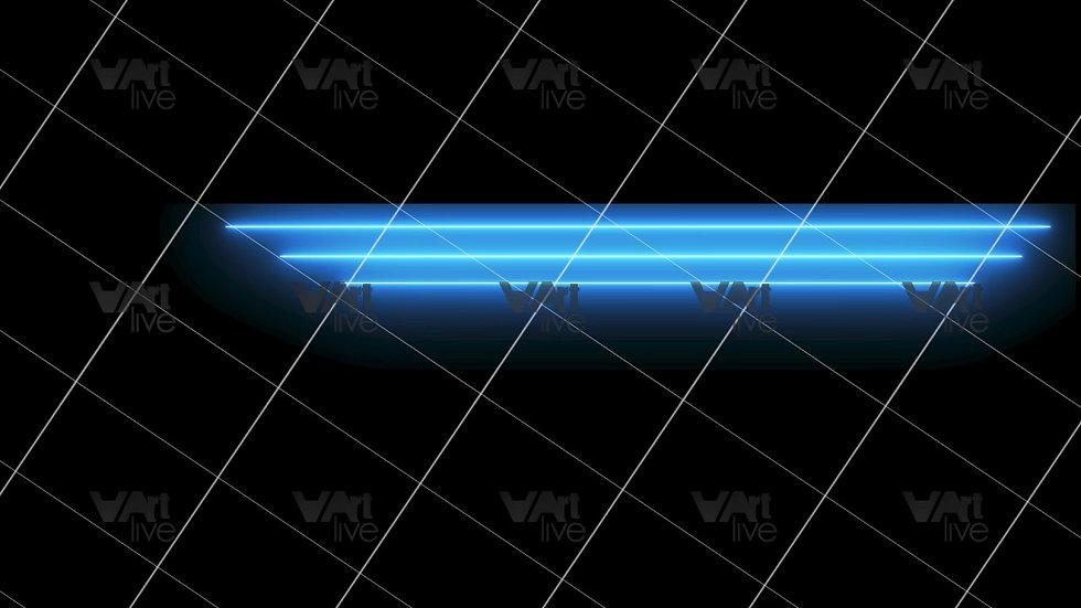 Colorful Neon Lines Loop - VA-3H-0103