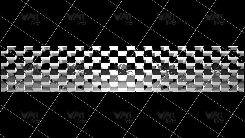 3D Geometric Shapes  Loop - VA-3H-0036