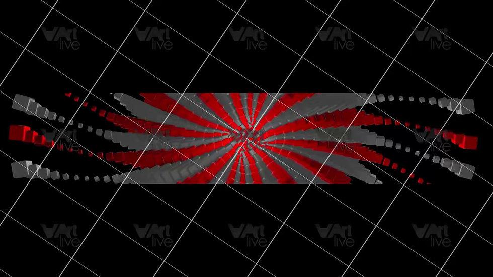3D Geometric Shapes Colorful Loop - VA-3H-0049