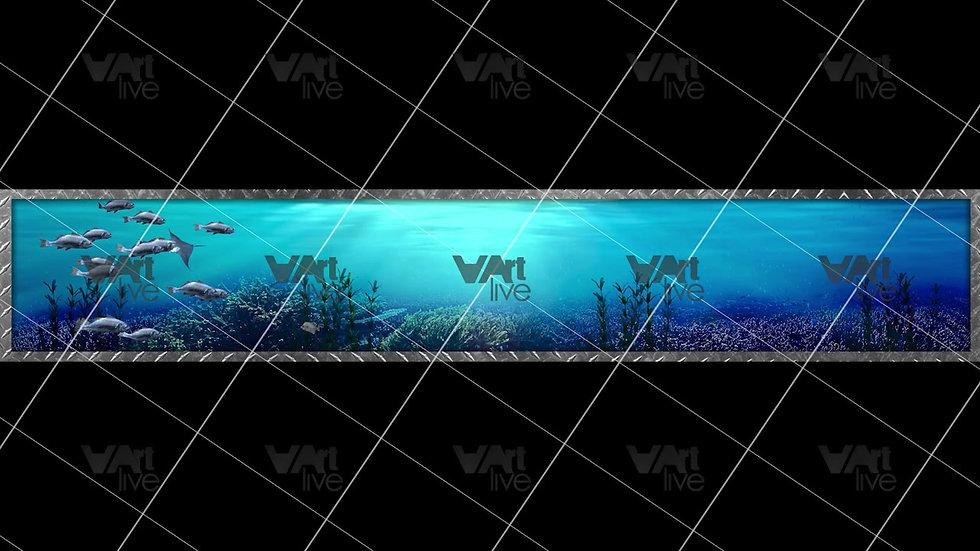 3D Aquarium Under the Sea With Fish Loop - VA-NC-0043