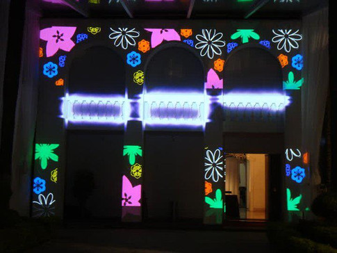 Video Mapping Debutante
