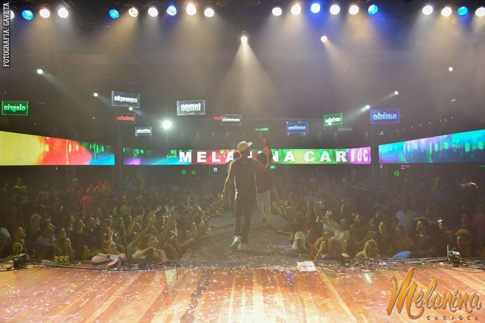 Show - SP - Sao Paulo - Melanina Carioca - 2
