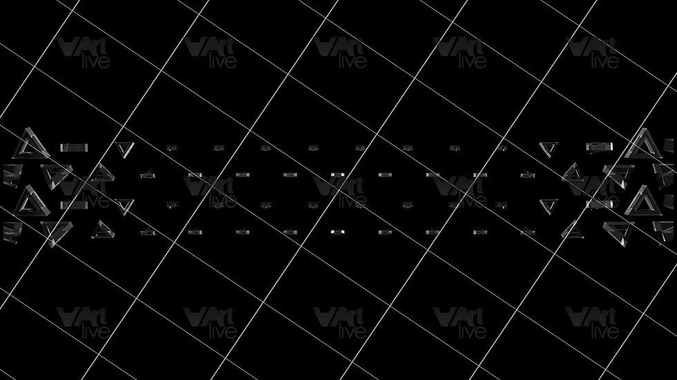3D Geometric Shapes  Loop - VA-3H-0032