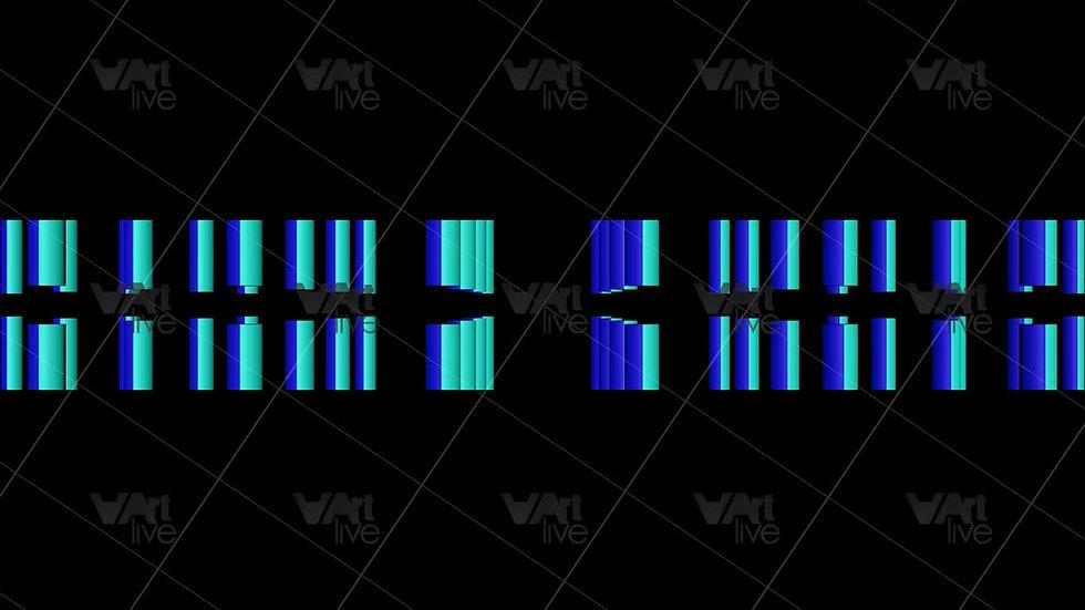 Geometric Shape 3D Colorful Loop - VA-NC-0034
