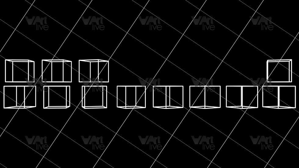 3D Geometric Shapes Loop - VA-3H-0062