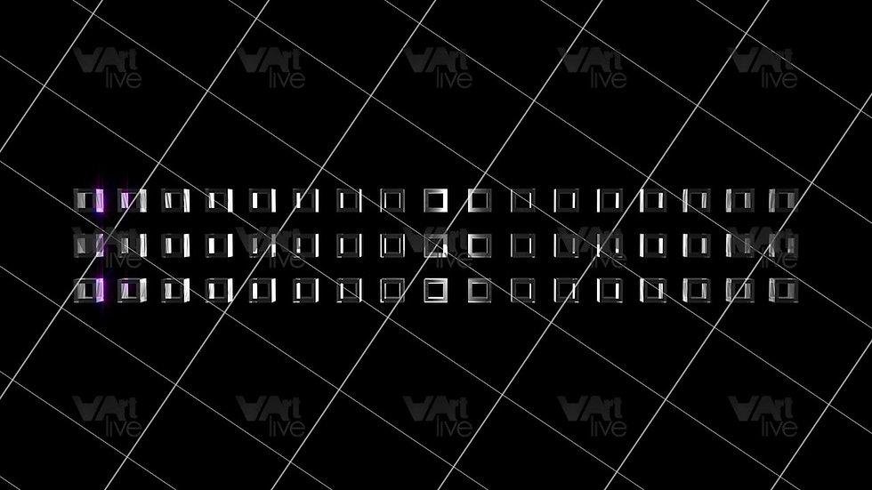 3D Geometric Shapes Colorful Loop - VA-3H-0030