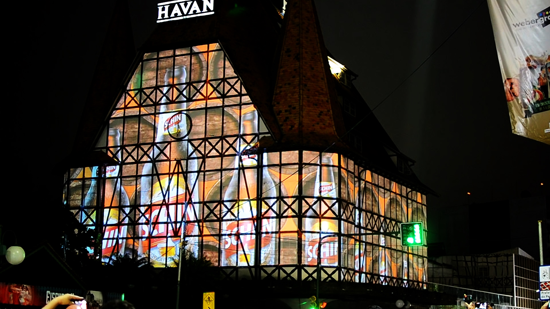 Mapping Externo - SC - Blumenau - Havan - Oktoberfest - 2
